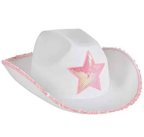 White Felt Cowgirl Hat