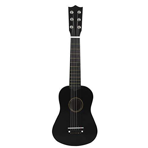 SISHUINIANHUA Mini Guitarra acústica de 21 Pulgadas Ukulele Guitarra clásica Musical Instrumental Instructor de Madera Principiante Música Amantes Niños Regalo,2