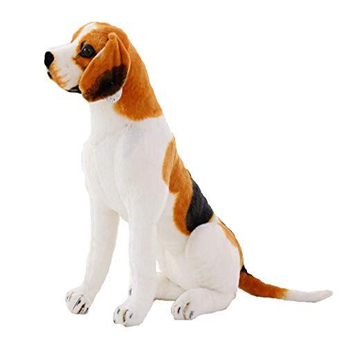 EREL Spielzeug für Hund Beagle 30cm Realistische Les ist Teddy Teddy Hundespielzeug Geschenk für Kinder Dekoration Natural Pet Store dedu