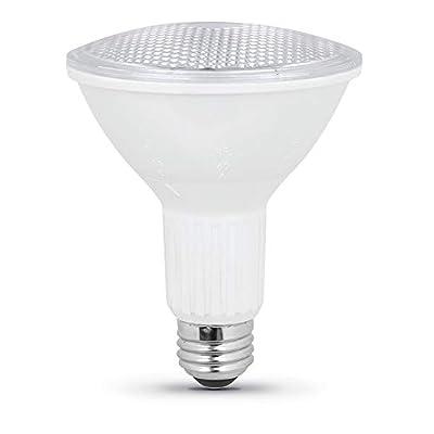 """Feit Electric PAR30L/ADJ/930CA 75W Equivalent 10 Watt Dimmable BeamChoice LED PAR30L PAR30 Long Reflector Bulb, 4.75""""H x 3.75"""" D, 3000K Bright White"""