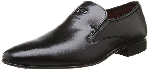 Pierre Cardin Curling - Zapatos de Cordones de Cuero Hombre