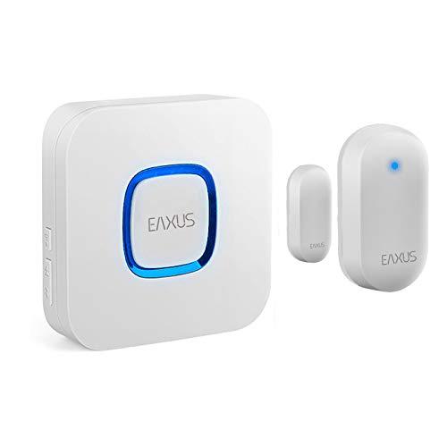 Eaxus Funk Durchgangsmelder mit Türgong und Sensor 182m Reichweite