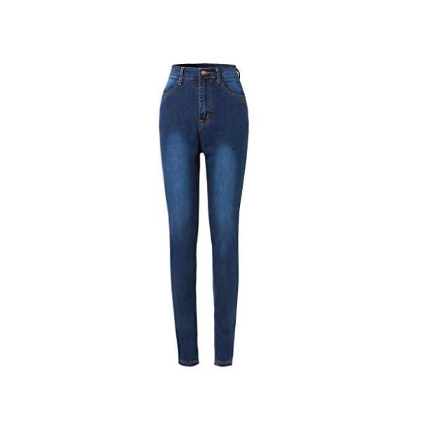 Women's Slim Fit Denim Pants Comfy Stretch Skinny Jeans 5