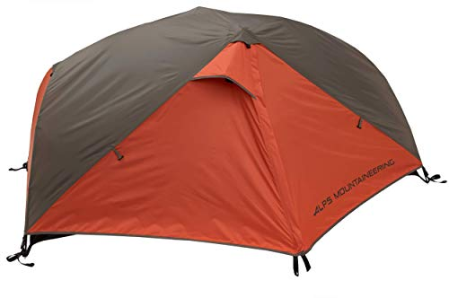 ALPS Mountaineering Chaos 1-Person Tent, Clay/Rust, Red/Charcoal