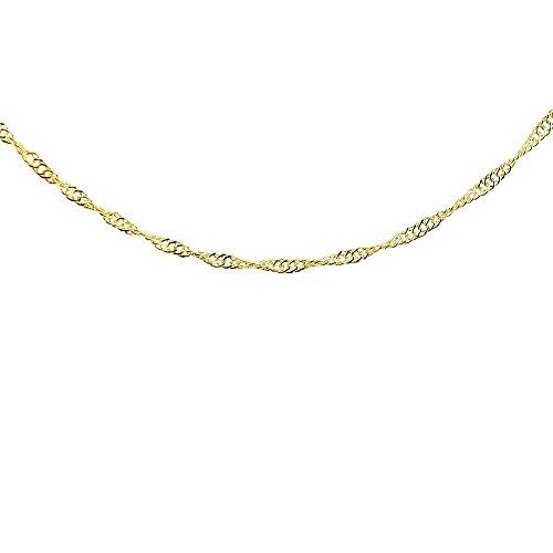 [アトラス] Atrus ネックレス メンズ 24金 純金 造幣局検定刻印付 45cm 地金 スクリューチェーン