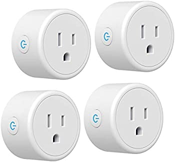 4-Pack Crestin Smart Plug with Timer Function