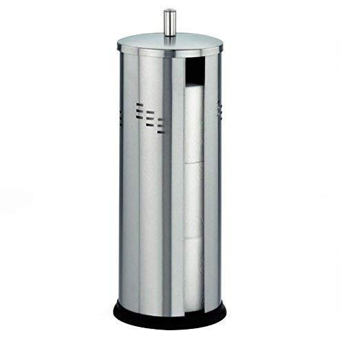 kela WC-Papierhalter Swing aus Edelstahl in Silber, 14.5 x 14.5 x 39.5 cm