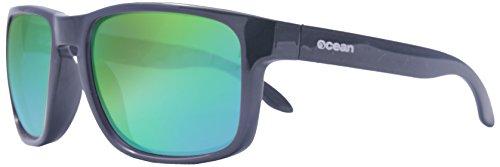 Ocean Sunglasses - Blue Moon - lunettes de soleil polarisées - Monture : Blanc Laqué - Verres : Revo Vert (19202.13)