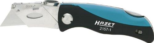 HAZET Klappmesser (inklusive Ersatzklingen, Länge eingeklappt: 100 mm) 2157-1