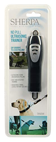 Sherpa Ultrasonic No Pull Dog Training Lead, Black (77727), one Size