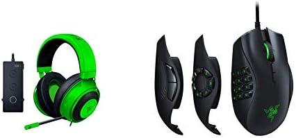 Razer Kraken Tournament Edition THX 7 1 Surround Sound Gaming Headset Green Naga Trinity Gaming product image