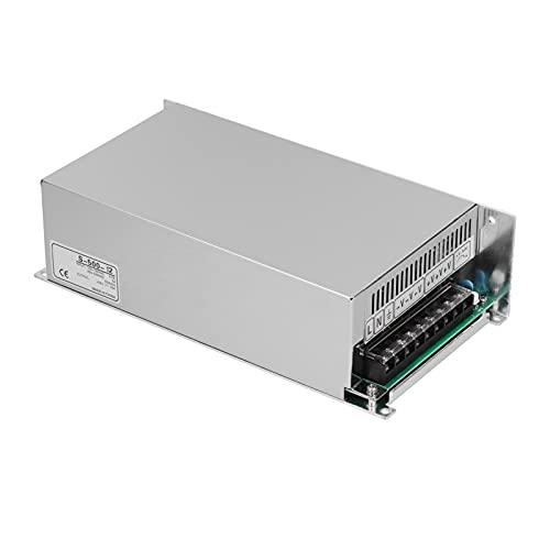 Fuente de alimentación conmutada, Tira de LED y Transformador de Alta Potencia Fuente de alimentación conmutada para electrónica doméstica 110 V / 220 V 500 W(Vuela-Salto-500-12)