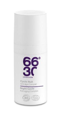 66°30 Organic - Cycle Nuit - Régénérent Anti-âge Complet - 15ml