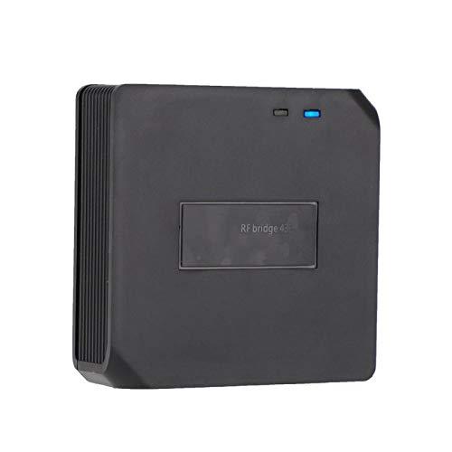 FOLOSAFENAR Puente RF Interruptor Remoto RF Seguridad para el hogar Inteligente WiFi a 433 MHz Alerta de Seguridad Interruptor Remoto WiFi USB5V, para 433 Control Remoto