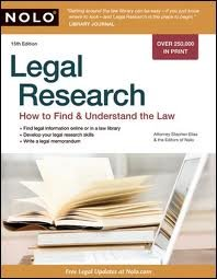 Legal Research: How to Find & Understand the Law 15th (fifteenth) edition