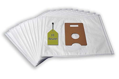 eVendix Staubsaugerbeutel passend für Braun at 6-9, 10 Staubbeutel, kompatibel mit Swirl P38