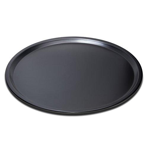 Oddier Nonstick Pizza Pan Carbon Steel Pizza Tray Pie Pans 14inch