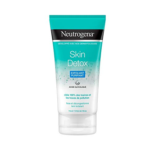 Neutrogena Exfoliant Purifiant Visage, Skin Detox, 1 Tube de 150ml