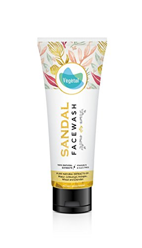 Vegetal Sandal Gel nettoyant visage 100 ml