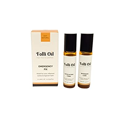 Folli Oil Emergency Fix, natural remedy to treat ingrown hairs