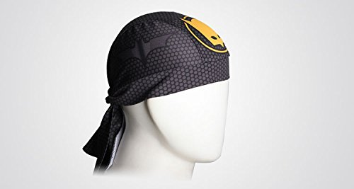 ShopINess Bandana Cap Kopftuch Radfahrer Bikertuch Bat Style - 3