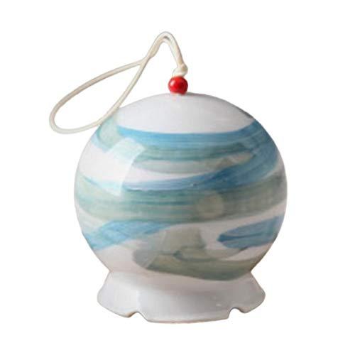 Stil Einfache Windspiel Dekorative Handgemachte Keramik Windglocke Hängende Verzierung Home Decor Keramik Handwerk