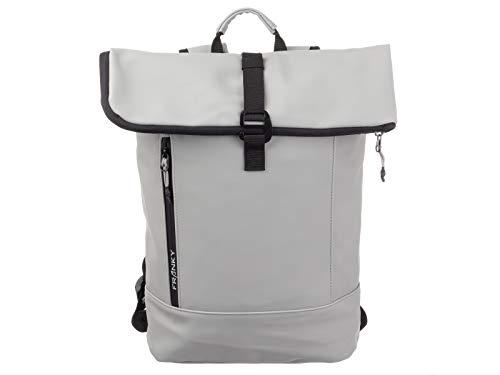 Franky Freizeitrucksack Daypack Rolltop Laptopfach Unisex RS60-light Grey