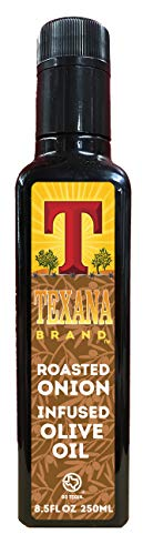 Texana Brand Roasted Onion Infused Olive Oil, 250ml (8.5oz)