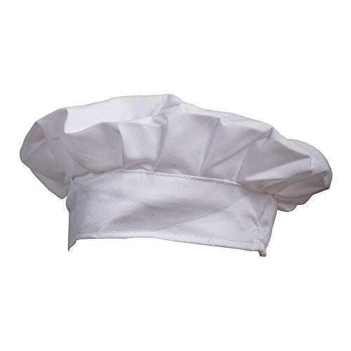 Camisin Sombrero de chef blanco para fiestas de repostería