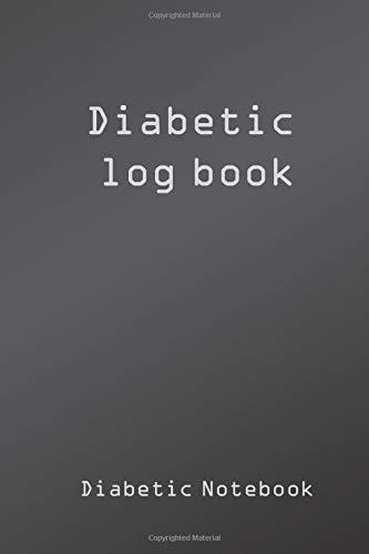 Diabetic Log Book: diabetic journal log book, diabetes glucose tracker