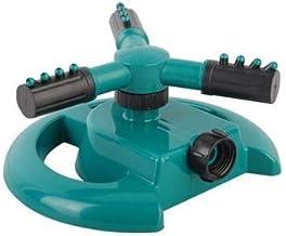Kzoom Lawn Sprinkler Automatic Garden Sprayer, Automatic 360 Degree Rotary Water Sprinklers Water Entire Lawn and Garden