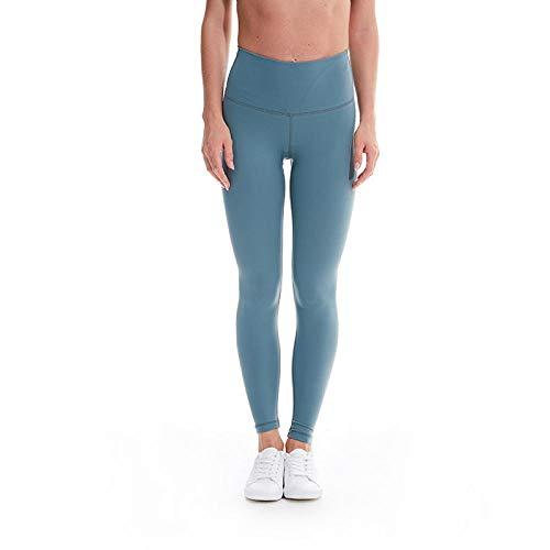 B/H Collant Tulle Sexy Taille Haute,Pantalon de Yoga de Fitness évacuant l'humidité, Pantalon de Levage de Hanches et Mince Taille Haute-Mysterious Green_M