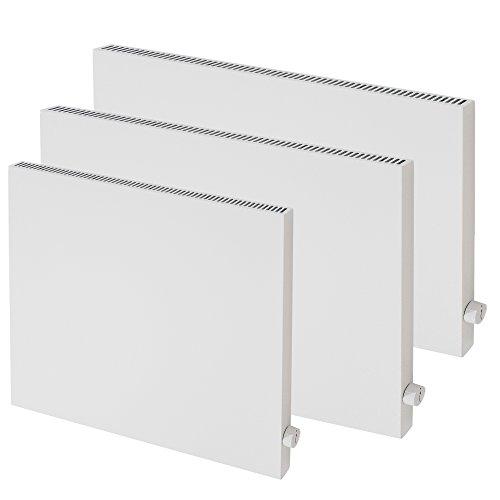 VASNER Konvi Infrarotheizung mit Thermostat 600 Watt Hybridheizung inkl Wandmontage 2J Bild 4*