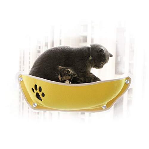 ZZQ Hängematte für katzenbett pet Fenster Bett cat Fenster barsch montieren Fenster pod Liege saugnäpfe warmes Bett für pet cat Rest House
