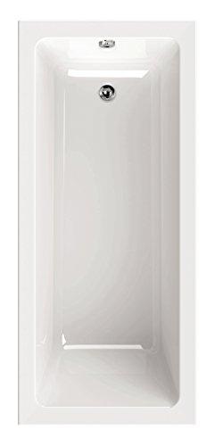 'aquaSu® 83038 6 Acryl-Wannenset Luxus, 170 x 75 cm, Weiß