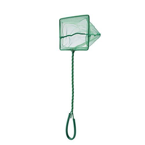 Pssopp Fangnetz Shrimp Net Fischnetz für Aquarium, Aquarium Kescher Net Angeln Kescher Fisch Skimming Net Goldfish Net für Fishbowl Aquarium(5inch)
