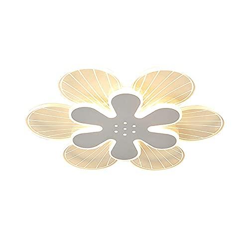 Wmdtr Lámpara de Techo Minimalista Minimalista Petal con LED Muñeco de Montaje, Lámparas de Techo Acrílico Creativo Lámparas de Techo Dormitorio Detalle, Sala de Estar, Restaurante, Hotel, Club