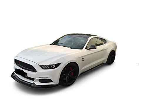 Solarplexius Auto-Sonnenschutz Scheiben-Tönung passgenau für Ford Mustang ab 2015 Komplettsatz Keine Folie