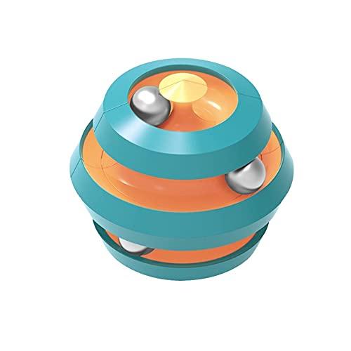 ZZCC Bead-Orbit Fidget Toys,Relieve Stress Metal Pinball Puzzle Rotating Bead Toys