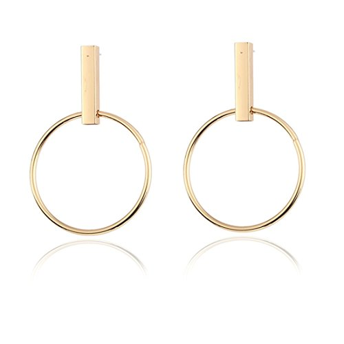 Ohrstecker/Ohrringe/Ohrring Jackets/Ohrklemmen/Ohrhänger/Ohrclips/Front-Back-Ohrringe/Creolen/ minimalist wind kreisen ohr diamanten für den gehörschutz,goldene