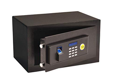 Yale 05578000-2, Cofre Standard Compact Biometria, Preto, YALE