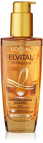 L'oréal Paris Elvital - Aceite para el cabello, 1 x 100 ml, para todo tipo de cabello, con 6 preciosos aceites florales