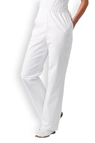 CLINIC DRESS - Hose für Damen Weiß Mischgewebe weiß 44