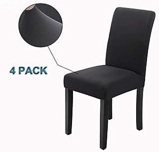 Veakii R Fundas para sillas Pack de 4 Fundas sillas Comedor