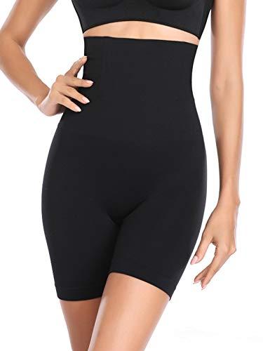 GARYOB Shapewear Damen Miederpants mit Bein Miederhose Hohe Taille Bauch Weg Formender Miederslip