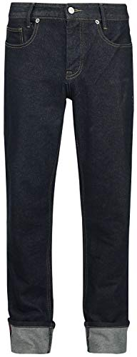 Doomsday Rockabilly Straight Männer Jeans schwarz W34L32 100% Baumwolle Biker, Rockabilly, Rockwear