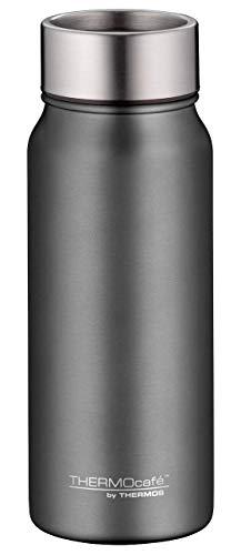 ThermoCafé TC Mug, Thermobecher Edelstahl grau 500ml, Kaffeebecher hält 9 Stunden heiß, Coffee to go Becher dicht und spülmaschinenfest mit zerlegbarem Verschluss - 4097.234.050
