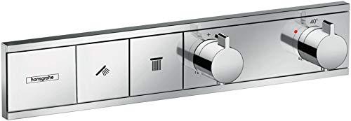 hansgrohe Unterputz Thermostat RainSelect (für 2 Funktionen) chrom