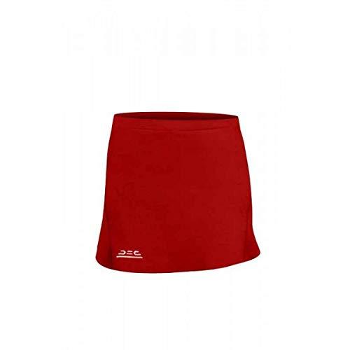 ATAK Falda de compresión de Hockey para Mujer, Mujer, Color Rojo, tamaño 152