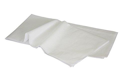 ベッドシーツ(薄80×180)折畳タイプ・使い捨て 非防水 吸水性抜群 20枚入り (ホワイト)WH